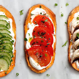 Sweet Potato Toasts.