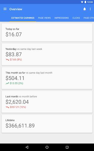 Google AdSense screenshot 7