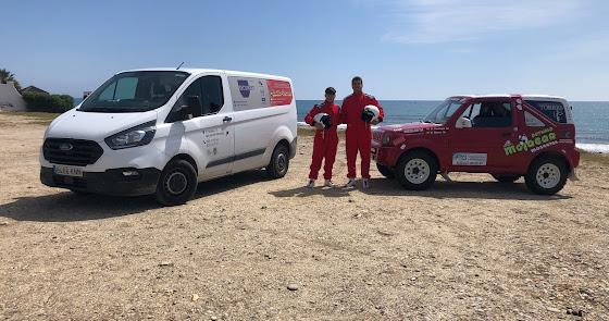 Dos mojaqueros en el campeonato de Rallyes TT