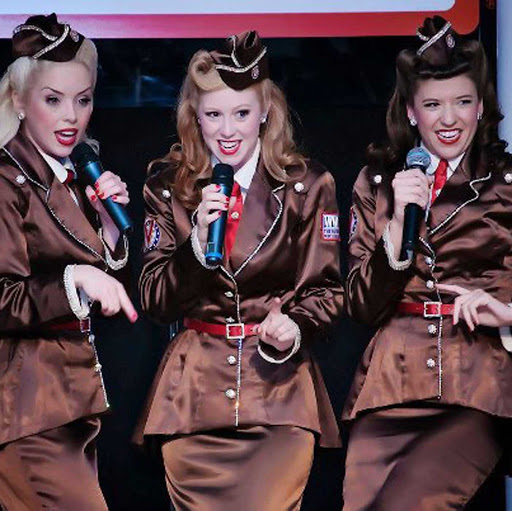 Victory-Belles-1.jpg - The singing trio Victory Belles takes you back to the 1940s through their live performances on the Queen of the Mississippi en route to New Orleans.