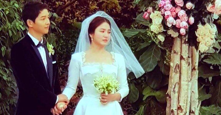 Song About Wedding.Trending Song Hye Kyo Started Crying After Song Joong Ki Said