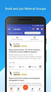 LetzGain: Grow Business and Network -B2B Leads App- screenshot thumbnail