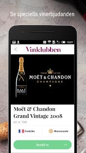 Vinklubben - Vin & Champagne Appar (APK) gratis nedladdning för Android/PC/Windows screenshot