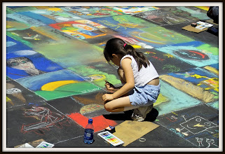 Photo: Street artist, San Rafael CA