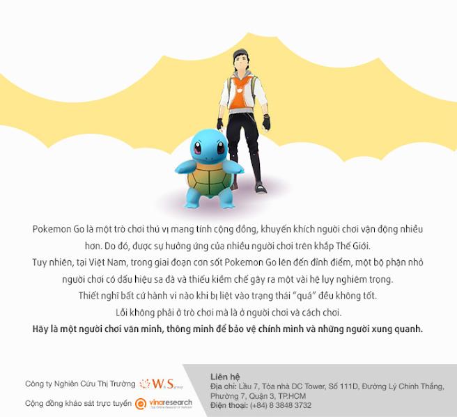 Cảnh báo trò chơi Pokemon Go