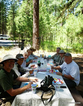 Photo: Lunch feast at Cold Springs outside Sisters