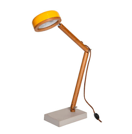 Hipp LED bordslampa - Copenhagen Yellow