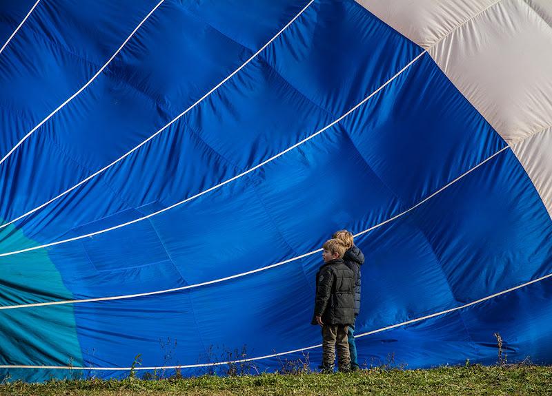 nel blu della mongolfiera di danyds65