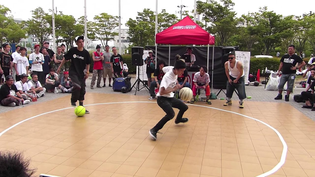 circle2013 #37 BlockB Final TAKURO vs KAMIKAZE (Freestyle Basketball  Battle) - YouTube