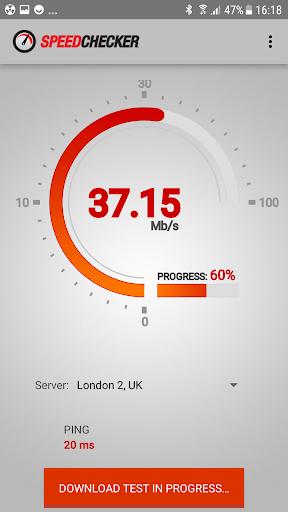Internet Speed Test 4G, 3G, LTE, Wifi, GPRS  screenshots 1