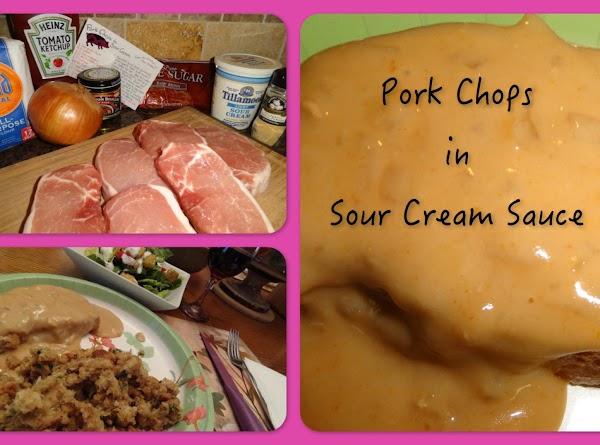 Pork Chops In Sour Cream Sauce Recipe