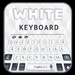 Pure White Keyboard Theme