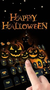 Vivid Halloween horror pumpkin skin - náhled