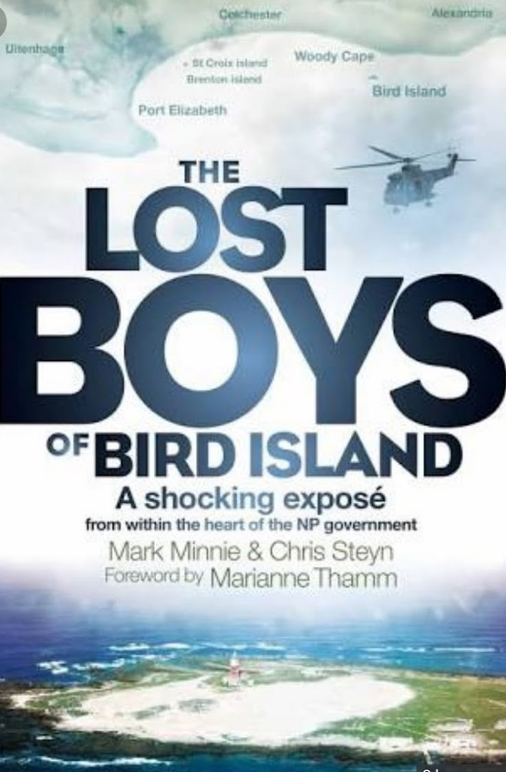 The Lost Boys of Bird Island' a book by former policeman Mark Minnie and ex-journalist Chris Steyn.