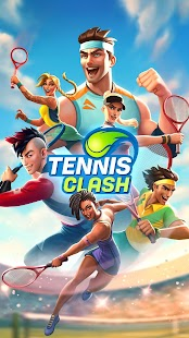 Tennis Clash: 3D-Sport - Gratis Multiplayer-Spiele Screenshot