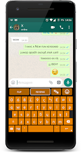 Upside Down Text Keyboard (Paid) 2