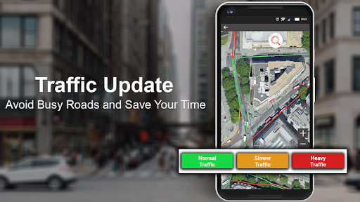 GPS, Maps & Voice Navigation 2019: Traffic Updates screenshot 5