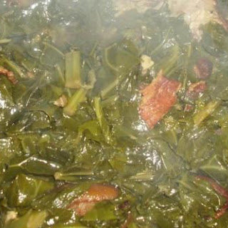 Not Just Paula's Best Braised SouthernGreens