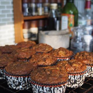 Spiced Pumpkin Beetroot Muffins