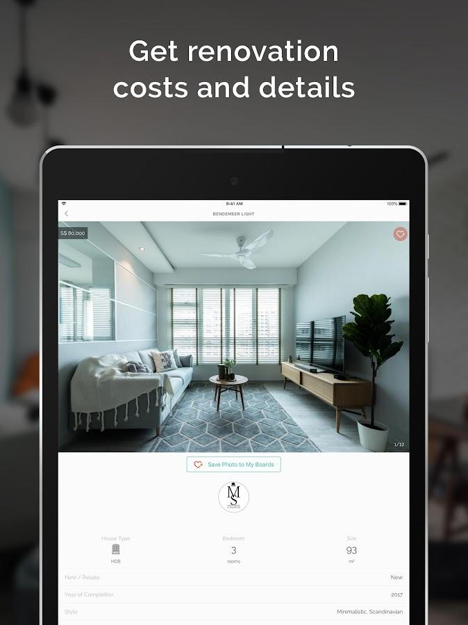 Qanvast interior design ideas screenshot