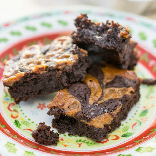 Small Batch Salted Caramel Brownies
