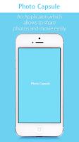 Screenshot of PhotoCapsule