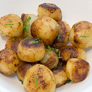 Roasted Potatoes with Onions