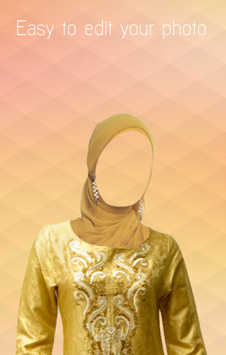 hijab design face