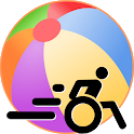 BeachBall - Cerebral palsy game/utility icon