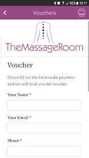 The Massage Room Bridgend- screenshot thumbnail