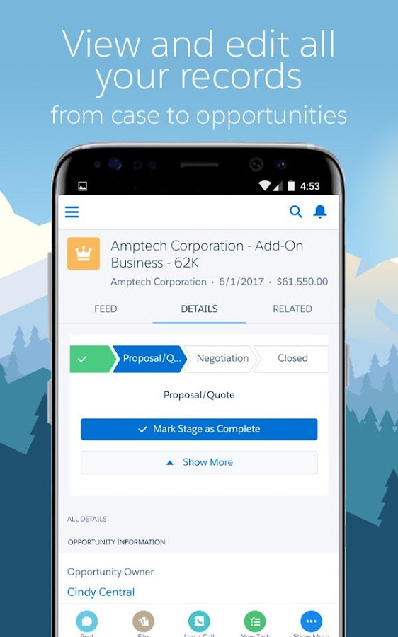 Salesforce- screenshot