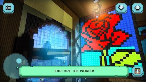 Screenshot 2 Tiny Craft: Block Exploration 1.25 APK MOD