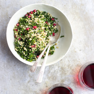 Winter Tabbouleh Salad with Clementine Thyme Dressing