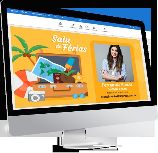 imidiatv exemplo editor de templates e comunicados para tv corporativa