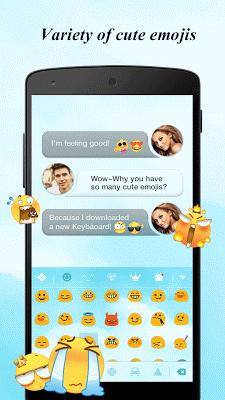 Keyboard - Boto : Clean Blue - screenshot