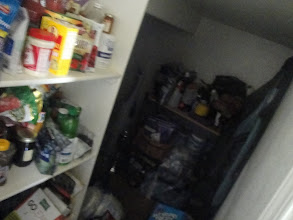 Photo: kitchen pantry - by fridge