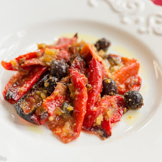 Peperoni Al Gratin (Peppers Au Gratin) Recipe