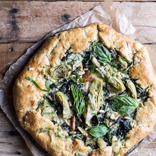 Spinach and Artichoke Galette.