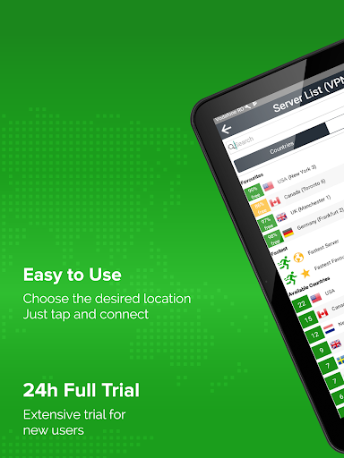 Unlimited VPN app - Simple and easy to use - ibVPN 3.4.1 screenshots 6