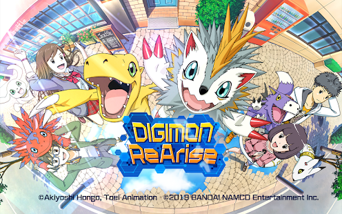Game DIGIMON ReArise APK for Windows Phone