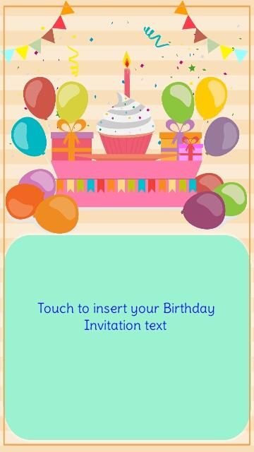 Birthday invitation maker wblqual birthday invitation maker android apps on google play birthday invitations stopboris Gallery