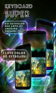 Keyboard Super Color- screenshot thumbnail