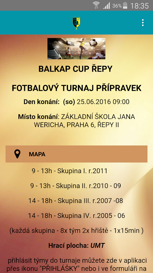 Balkap Cup- screenshot