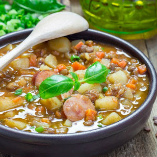 Smoked Sausage Bean Soup