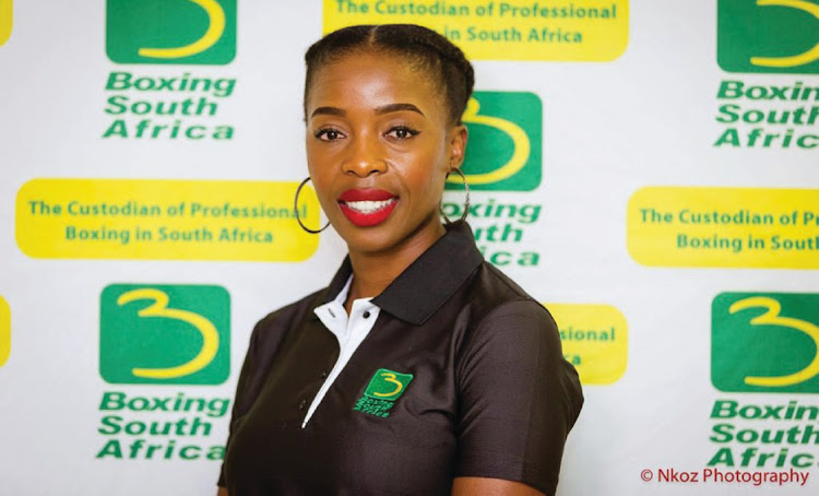 Boxing South Africa's acting CEO Cindy Nkomo.