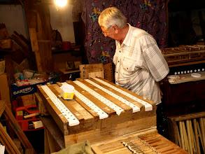 Photo: Srdcem varhan je vzdušnice která umožňuje přepuštění zvuku právě do té dírky a píšťaly kterou zvolil varhaník na klaviatuře.