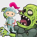 Knight Zombie Cut Head icon