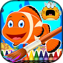 Coloring Fish - Sea Animals icon