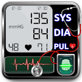 Blood Pressure Checker Diary : BP Info History Log Icon