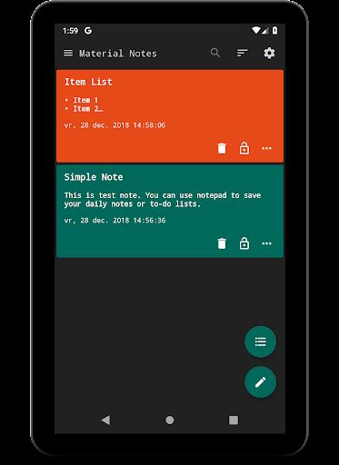 Notes (Material Notepad) 3.1.30 screenshots 10